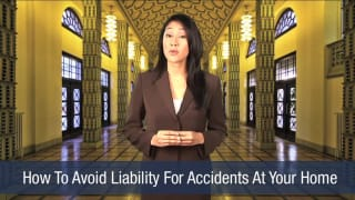Video How To Avoid Liability For Accidents At Your Home