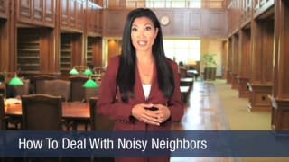 Video How To Deal With Noisy Neighbors