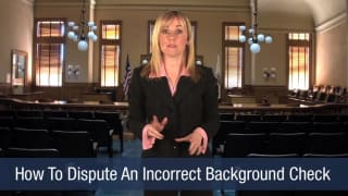 Video How To Dispute An Incorrect Background Check
