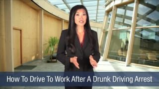 Video How To Drive To Work After A Drunk Driving Arrest