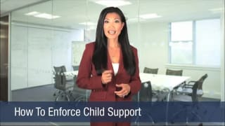 Video How To Enforce Child Support