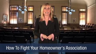 Video How To Fight Your Homeowner's Association