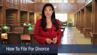Video How To File For Divorce
