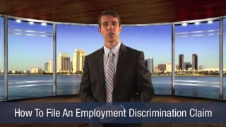 Video How To File an Employment Discrimination Claim