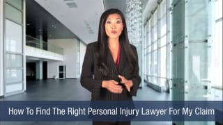 Video How To Find The Right Personal Injury Lawyer For My Claim