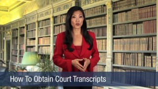Video How To Obtain Court Transcripts