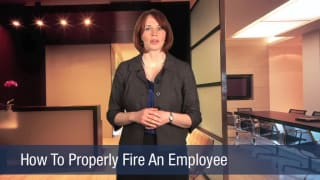 Video How To Properly Fire An Employee