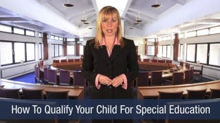 Video How To Qualify Your Child For Special Education