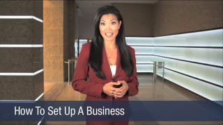 Video How To Set Up A Business
