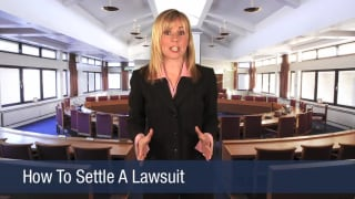 Video How To Settle A Lawsuit