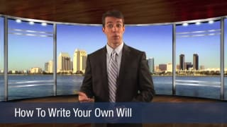 Video How To Write Your Own Will