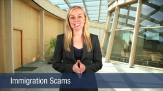 Video Immigration Scams