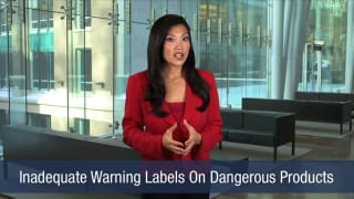 Video Inadequate Warning Labels On Dangerous Products