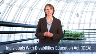 Video Individuals With Disabilities Education Act (IDEA)