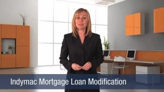 Video Indymac Mortgage Loan Modification