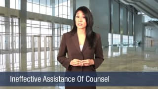 Video Ineffective Assistance Of Counsel