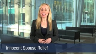 Video Innocent Spouse Relief