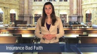 Video Insurance Bad Faith