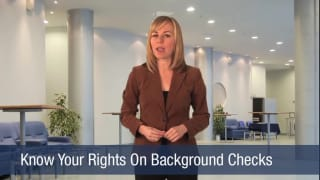 Video Know Your Rights On Background Checks