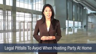 Video Legal Pitfalls To Avoid When Hosting Party At Home