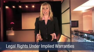 Video Legal Rights Under Implied Warranties