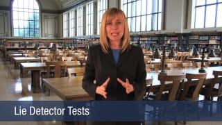 Video Lie Detector Tests