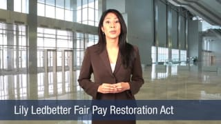 Video Lily Ledbetter Fair Pay Restoration Act