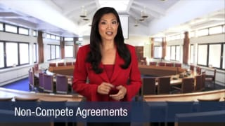 Video Non-Compete Agreements
