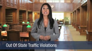 Video Out Of State Traffic Violations
