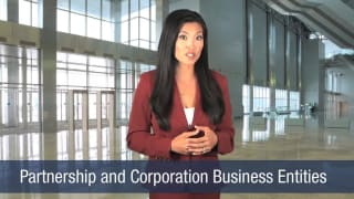 Video Partnership and Corporation Business Entities
