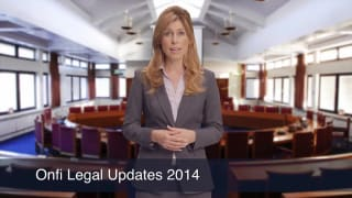 Video Onfi Legal Updates 2014