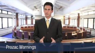 Video Prozac Warnings