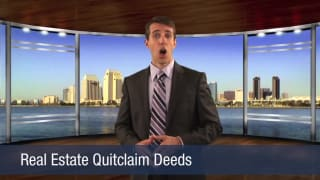 Video Real Estate Quitclaim Deeds