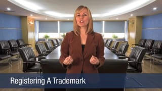 Video Registering a Trademark
