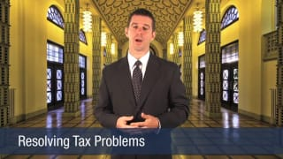Video Resolving Tax Problems