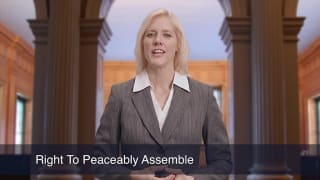 Video Right To Peaceably Assemble