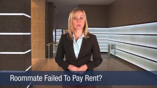 Video Roommate Failed to Pay Rent