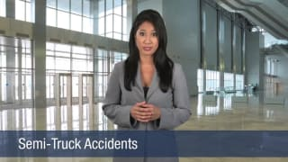 Video Semi-Truck Accidents