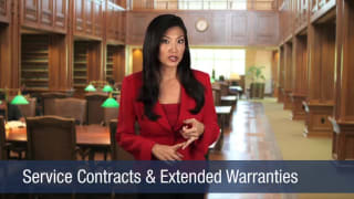 Video Service Contracts & Extended Warranties