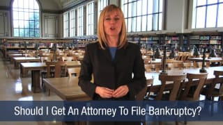 Video Should I Get An Attorney To File Bankruptcy