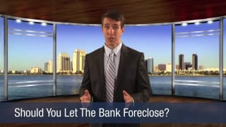 Video Should You Let the Bank Foreclose