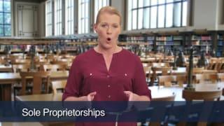 Video Sole Proprietorships