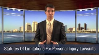 Video Statutes of Limitations for Personal Injury Lawsuits