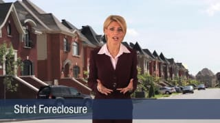 Video Strict Foreclosure