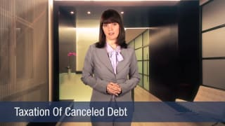 Video Taxation Of Canceled Debt