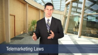Video Telemarketing Laws