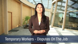 Video Temporary Workers – Disputes On The Job