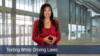 Video Texting While Driving Laws