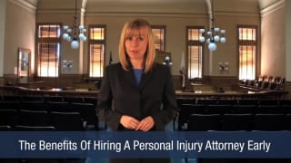 Video The Benefits Of Hiring A Personal Injury Attorney Early