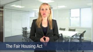 Video The Fair Housing Act